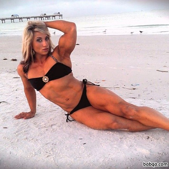 awesome woman with muscle body and toned bottom post from flickr