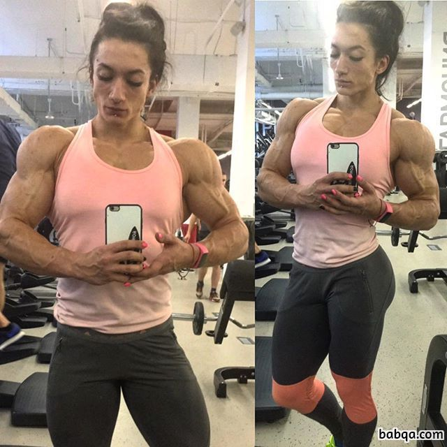 perfect babe with strong body and toned biceps post from g+