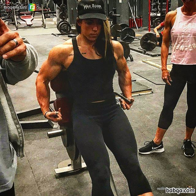 spicy woman with strong body and muscle bottom picture from instagram