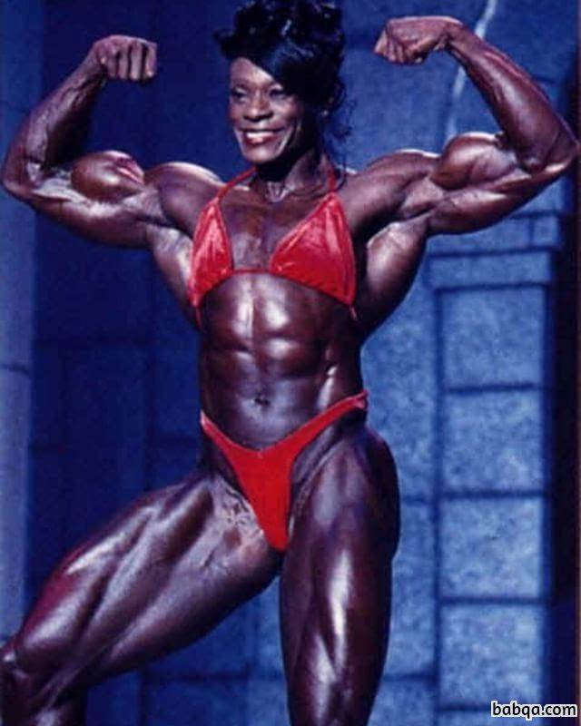 hottest woman with muscular body and toned legs pic from tumblr
