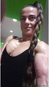 sexy female bodybuilder with muscular body and muscle ass image from reddit