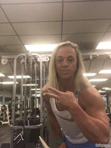 hot female with strong body and muscle bottom image from reddit