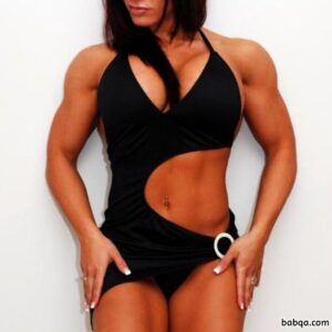 cute woman with muscle body and muscle legs image from tumblr