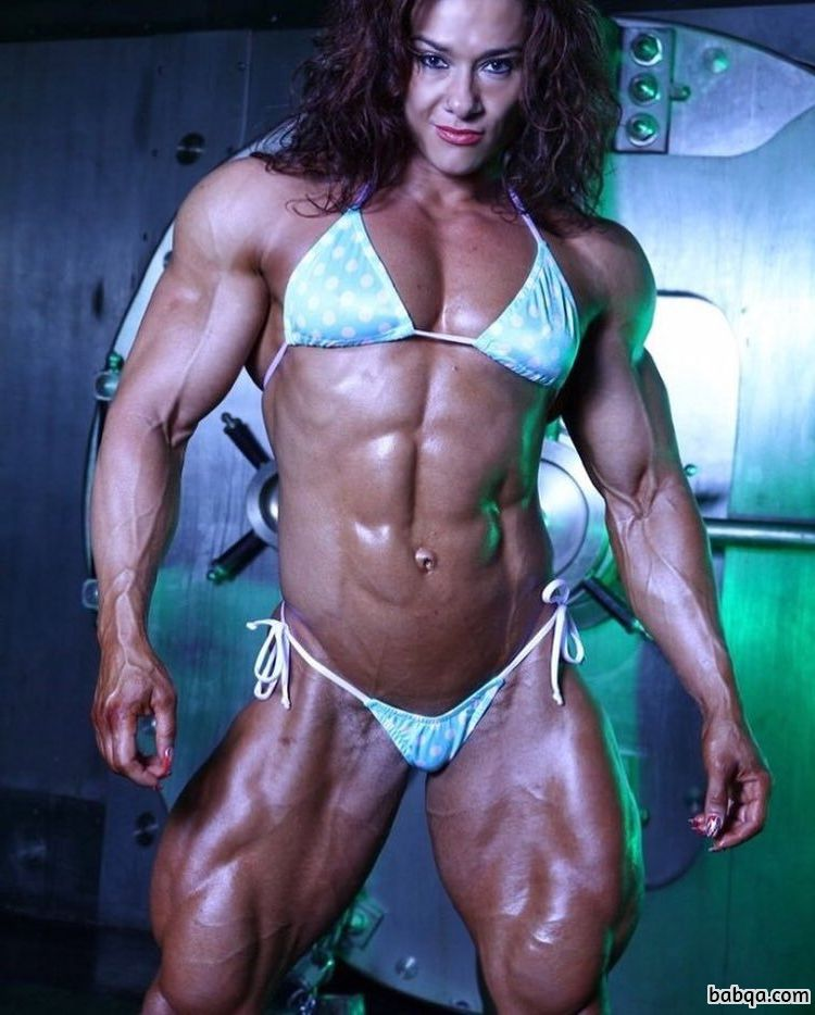 perfect female with muscle body and toned ass picture from reddit