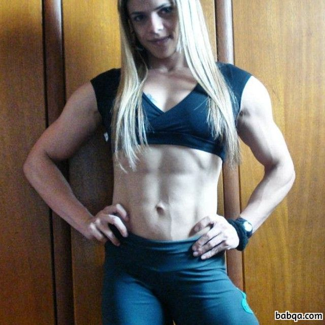 beautiful babe with strong body and muscle bottom repost from reddit