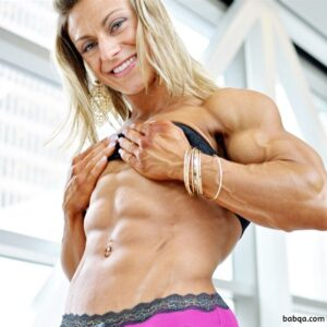 hottest woman with strong body and muscle legs post from reddit