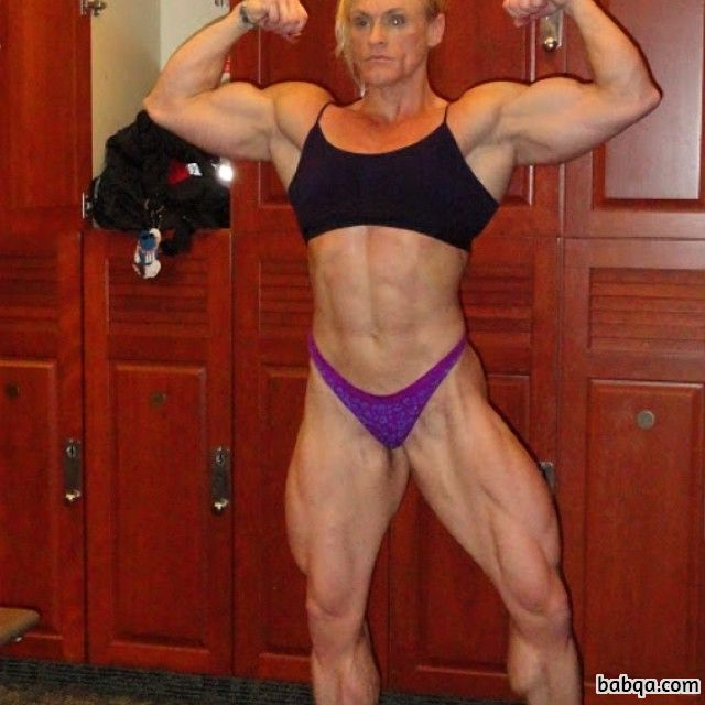 awesome female bodybuilder with strong body and muscle ass picture from tumblr