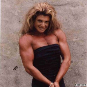 hottest female bodybuilder with muscle body and muscle arms image from facebook