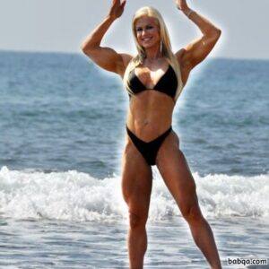 spicy female with strong body and muscle biceps repost from g+