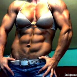 awesome woman with muscular body and muscle bottom post from tumblr
