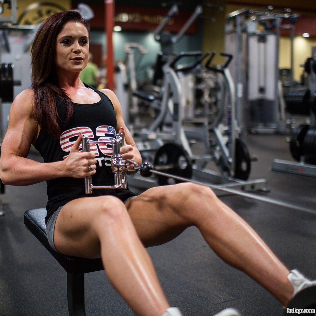 beautiful female bodybuilder with fitness body and toned ass post from linkedin