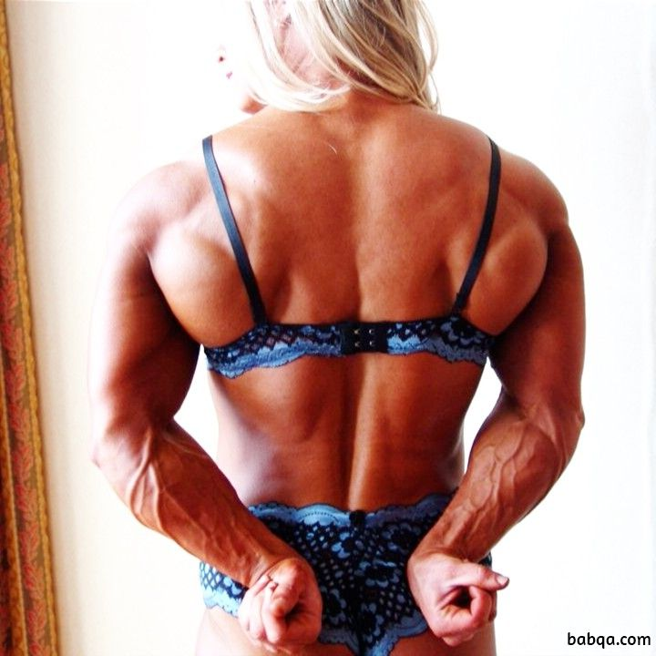 cute woman with fitness body and muscle bottom pic from tumblr