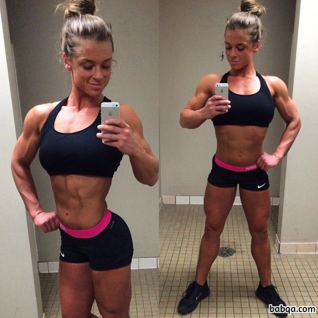 perfect female with strong body and muscle ass image from tumblr