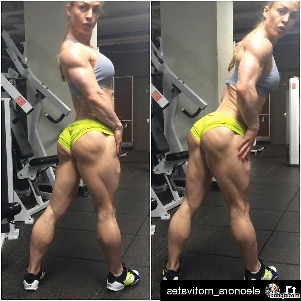 cute chick with strong body and toned bottom pic from instagram