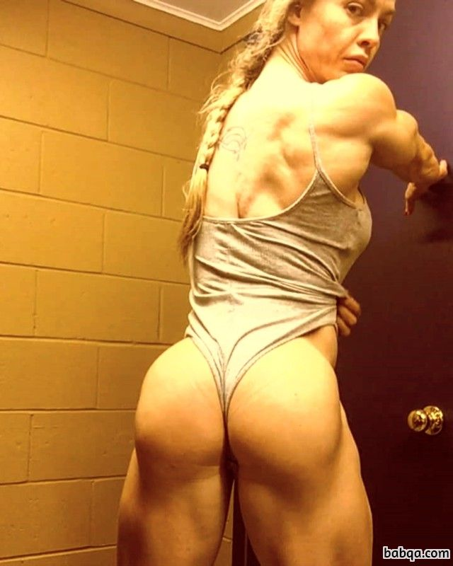 awesome babe with muscle body and muscle arms post from g+