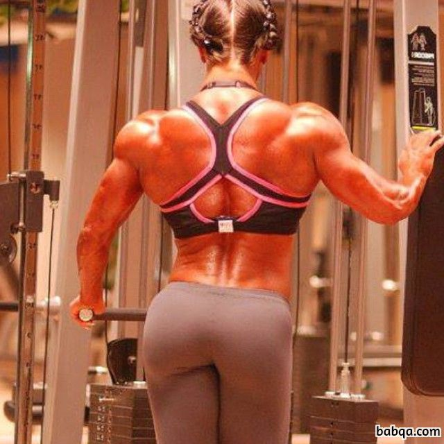 hot female with strong body and muscle legs repost from reddit