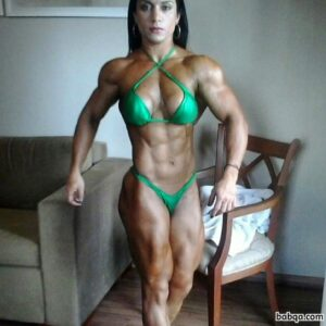 awesome woman with muscle body and toned legs repost from g+