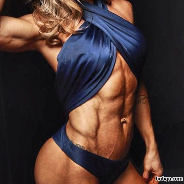 sexy female bodybuilder with strong body and muscle bottom post from linkedin