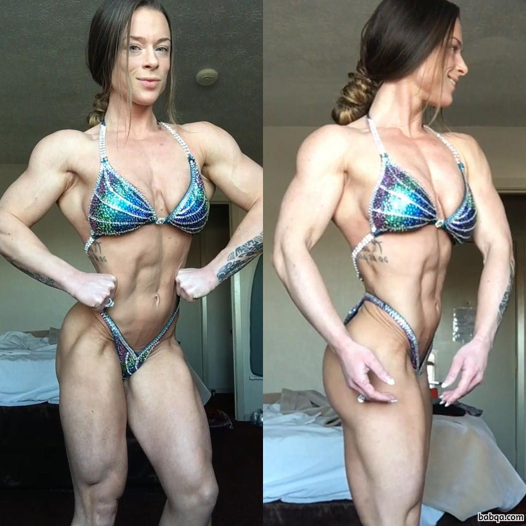 hottest babe with fitness body and muscle ass post from linkedin