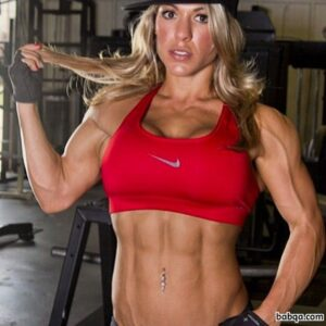 hot girl with muscle body and toned legs image from tumblr
