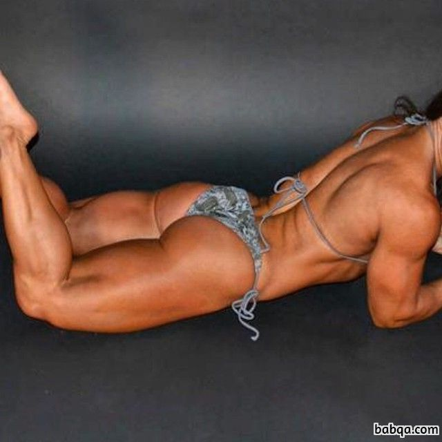 beautiful babe with muscular body and muscle arms pic from tumblr