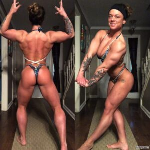 awesome female with fitness body and toned bottom image from tumblr