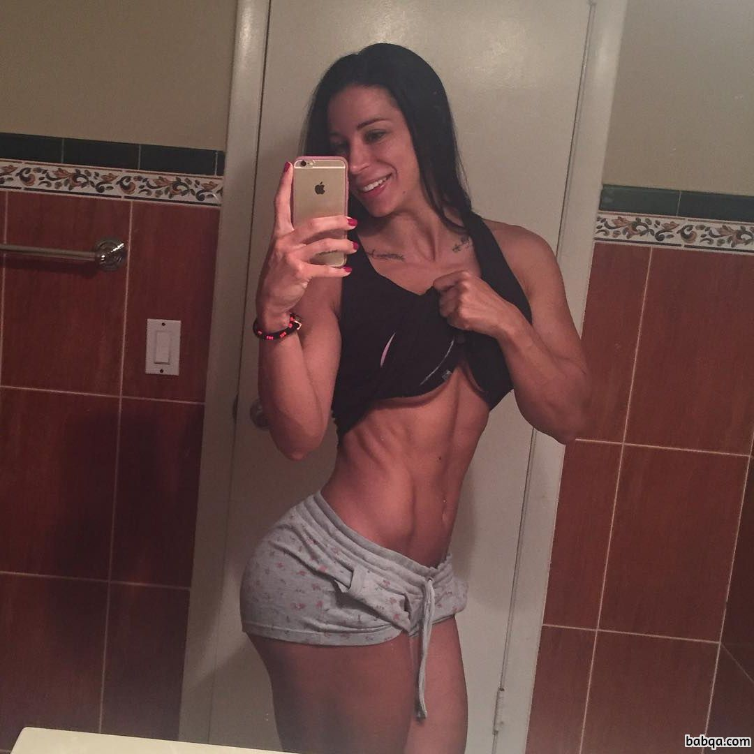 hottest girl with strong body and muscle bottom image from linkedin