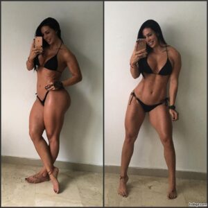 hot chick with strong body and muscle booty post from flickr
