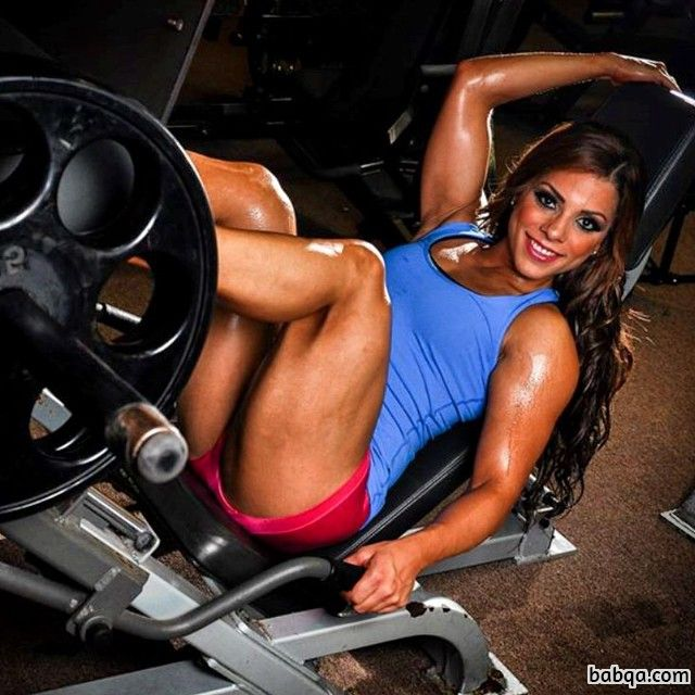 beautiful lady with muscle body and toned arms photo from g+