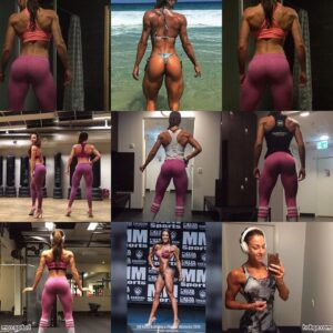 hottest babe with strong body and toned bottom pic from g+