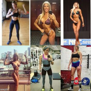 hot female bodybuilder with fitness body and toned booty repost from linkedin