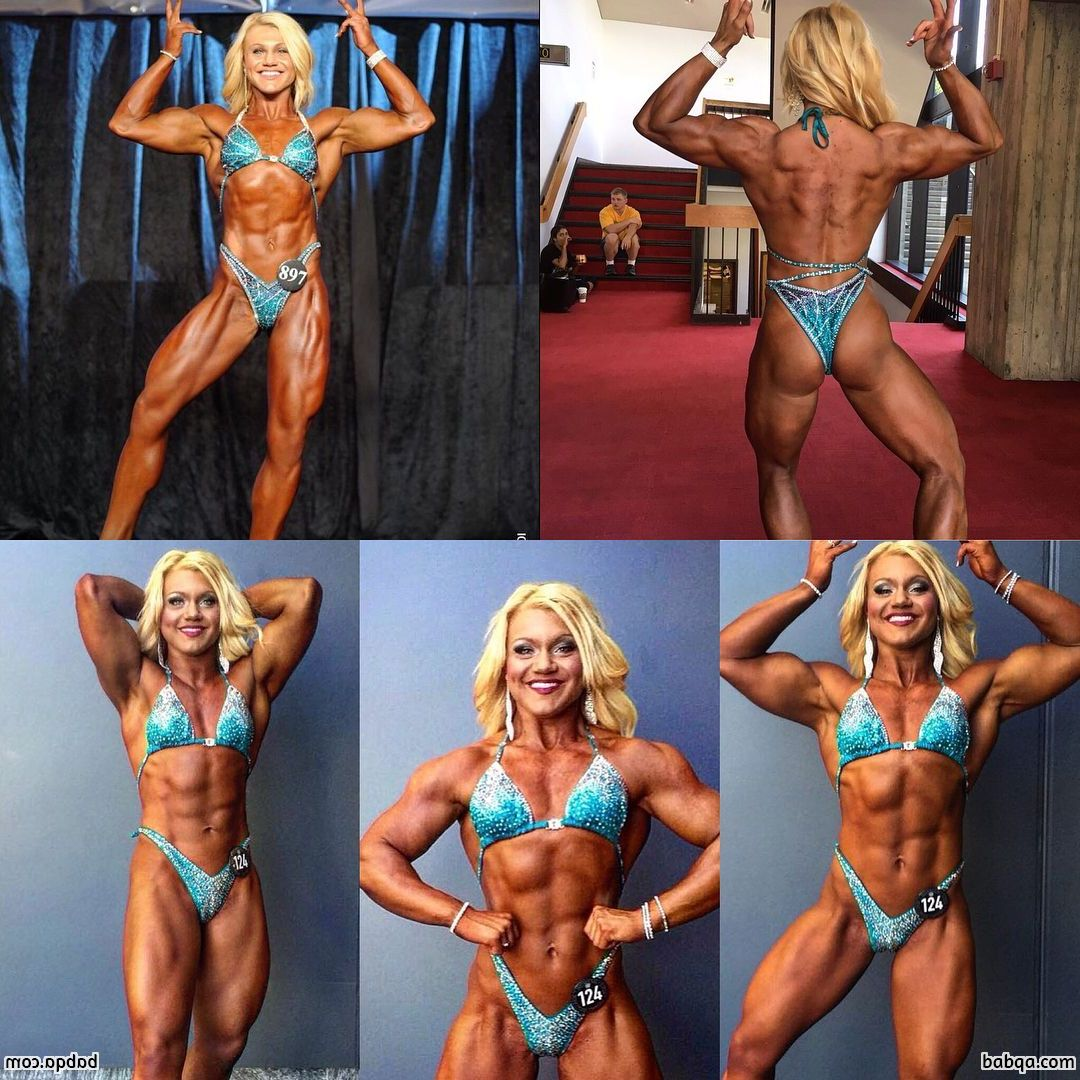 beautiful female with strong body and toned arms pic from g+