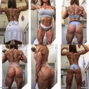 hottest girl with muscular body and muscle ass repost from reddit