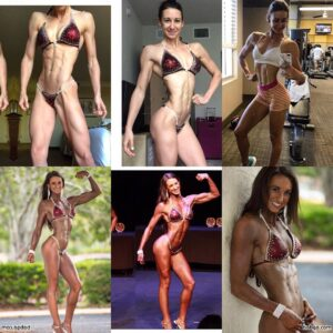 cute female bodybuilder with muscle body and muscle bottom image from reddit