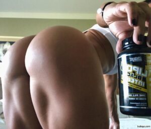 beautiful female bodybuilder with muscular body and muscle booty photo from tumblr