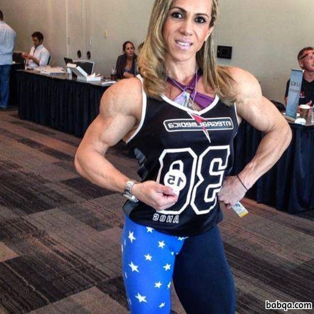 awesome woman with muscle body and toned bottom post from tumblr