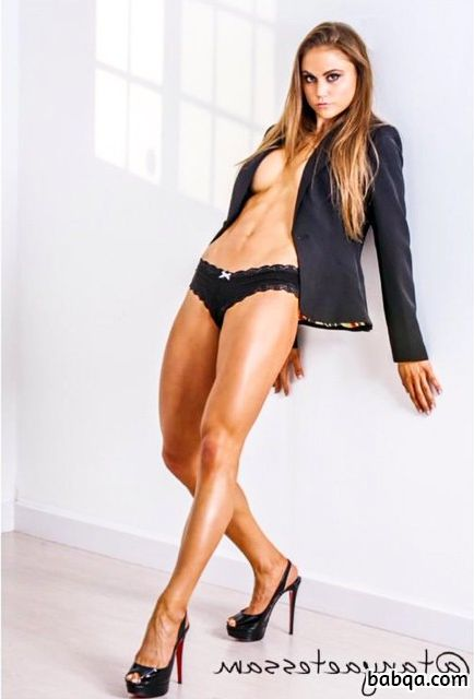 spicy babe with muscle body and toned legs photo from linkedin