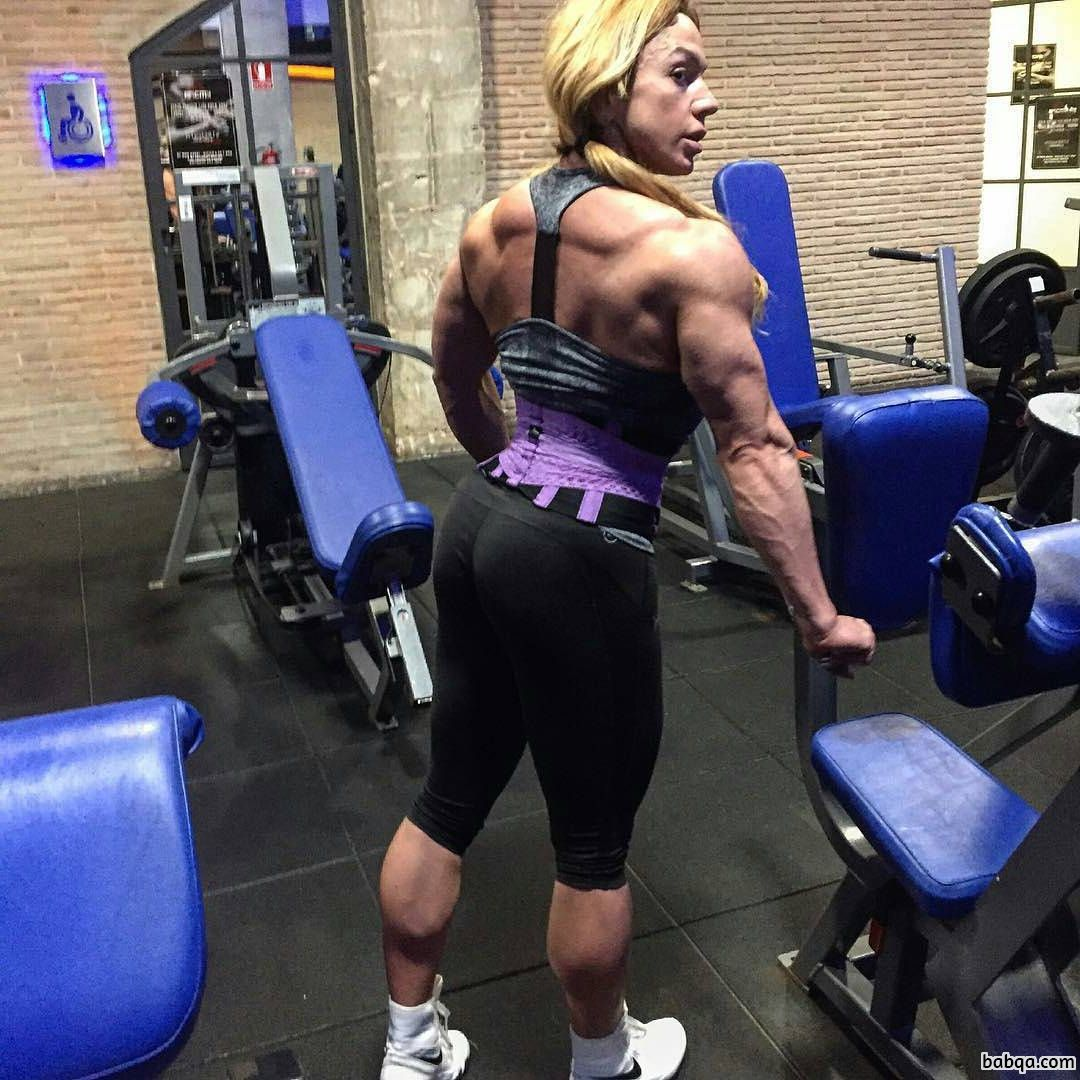 spicy girl with muscle body and toned arms repost from tumblr
