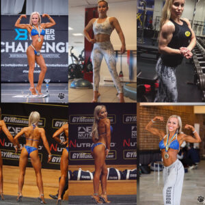 awesome female bodybuilder with muscle body and muscle booty post from tumblr