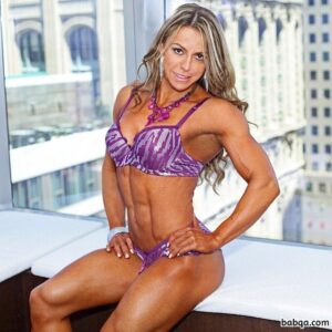 hot lady with muscular body and muscle arms repost from tumblr