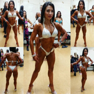 awesome female bodybuilder with muscular body and muscle biceps pic from facebook