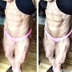awesome female with muscular body and toned arms image from tumblr