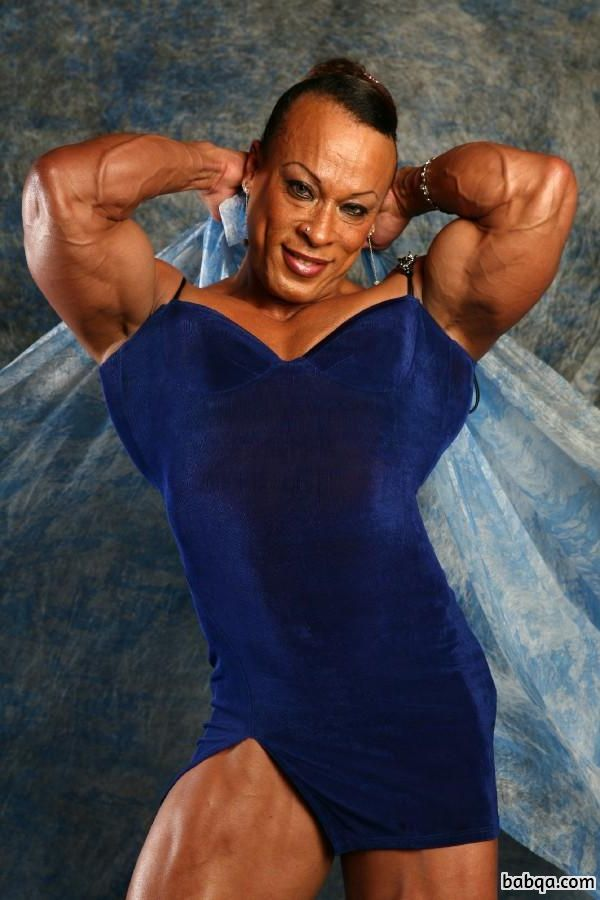 hot female with muscular body and toned biceps image from tumblr