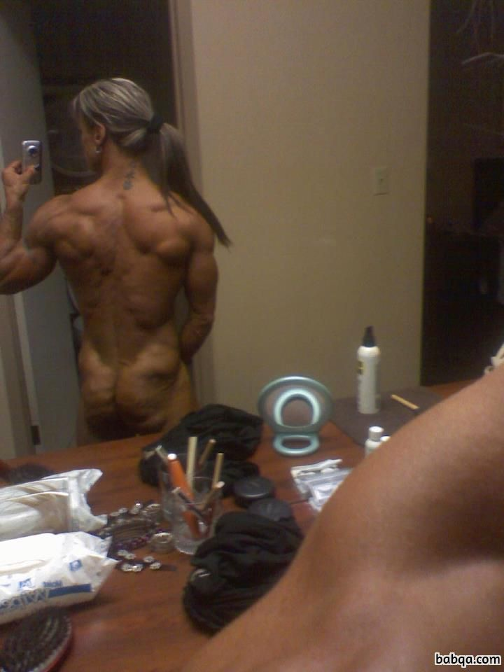sexy female bodybuilder with strong body and muscle bottom image from linkedin
