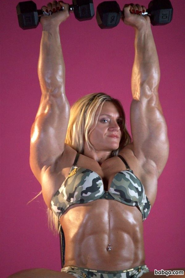 hot female with fitness body and muscle legs picture from flickr