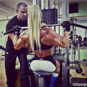 awesome woman with strong body and muscle legs photo from g+