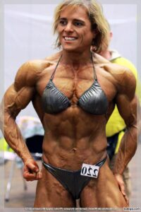 perfect female bodybuilder with muscle body and toned bottom picture from reddit