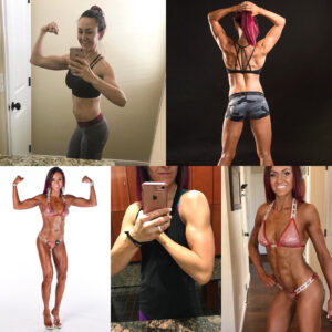 awesome female with fitness body and muscle ass image from facebook