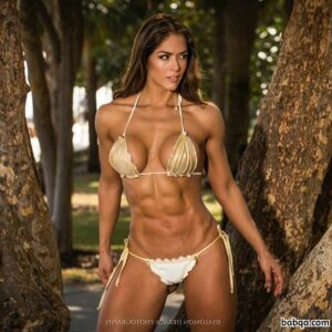cute chick with muscular body and toned bottom repost from tumblr