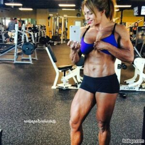 spicy female with fitness body and muscle bottom picture from reddit